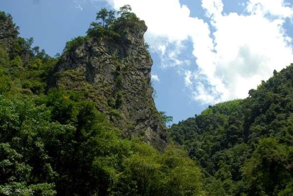 贵州六盘水梅花山景区展示